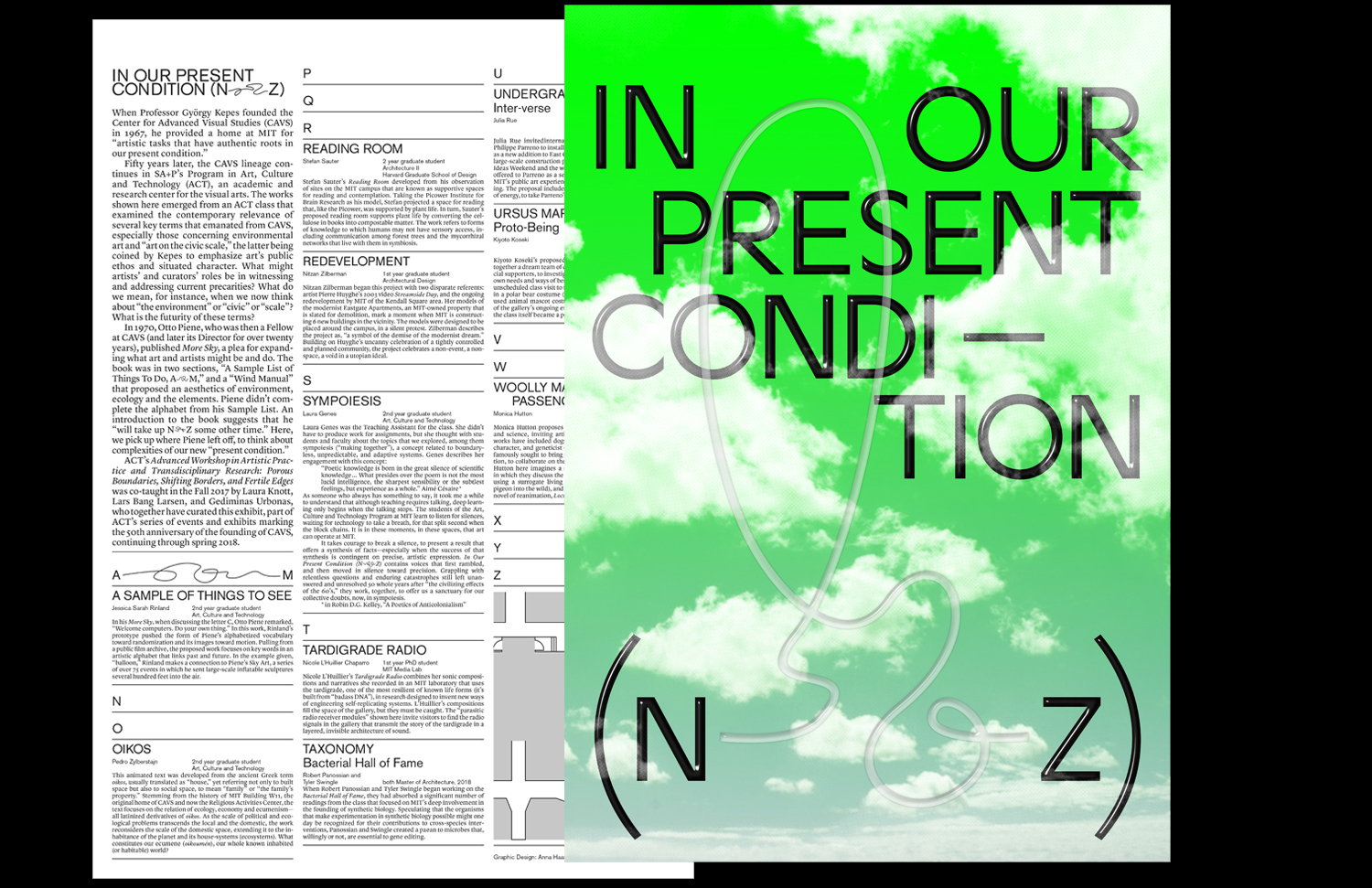 In Our Present Condition (N–Z)